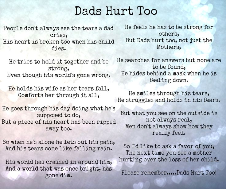 Dads Hurt Too #miscarriage #stillbirth #babyloss