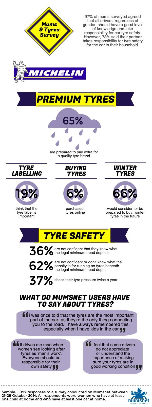 Michelin infographic - Mums and Tyres – Infographic and Myth buster