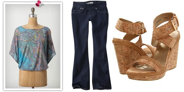 Girls Weekend Outfit (1 of 5 outfits for life's best moments in an article I wrote for SheKnows.com)