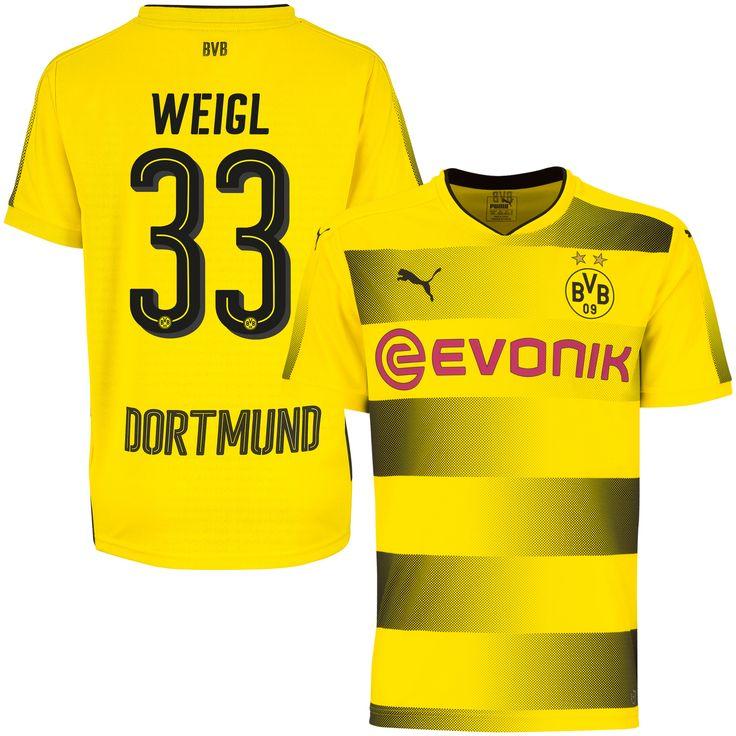 Borussia Dortmund Shirt Thuis 2017-2018  Weigl 33