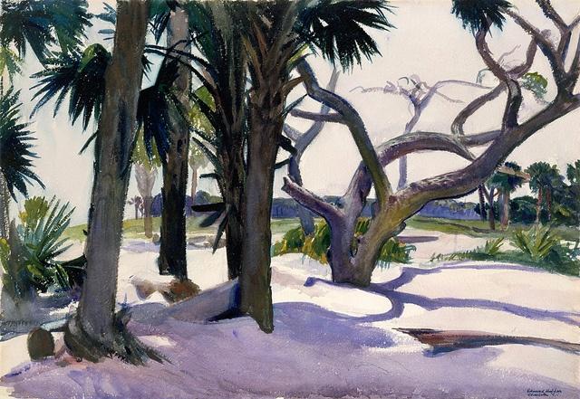Edward Hopper-Folly Beach, Charleston, South Carolina by BoFransson, via Flickr