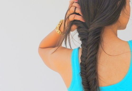 maybe by summer?Hair Ideas, Fish Tail, Hairstyles, Makeup, Long Hair, Beautiful, Hair Style, Fishtail Braids, Nails