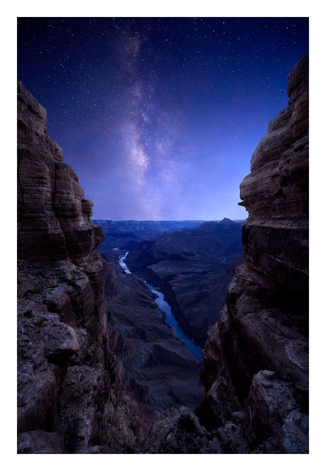 Milky Way over Grand Canyon | ©copyright Colin H Sillerud