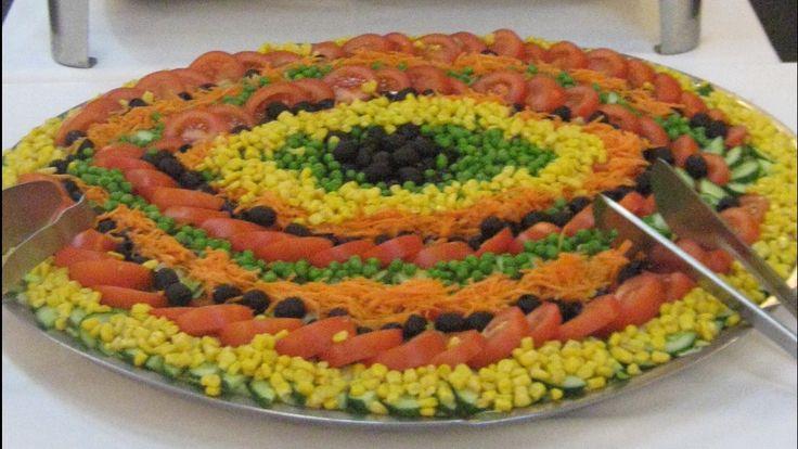 Salat decoration