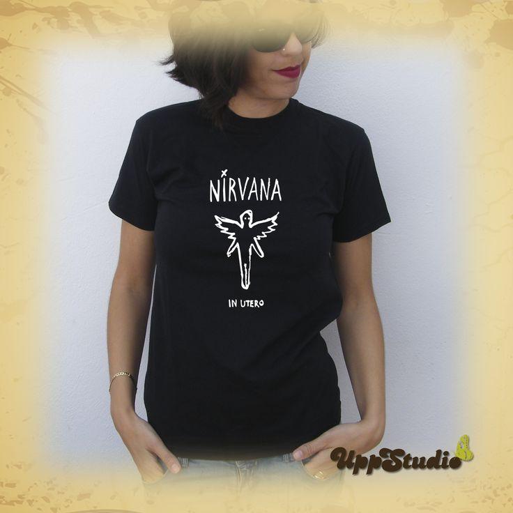 Camiseta #Nirvana #InUtero #TShirt #Tee #Diseño #Design con envío #Gratis sólo en www.UppStudio.com