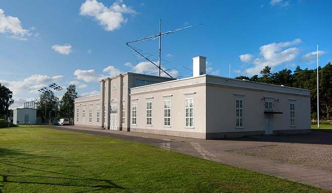 The Varberg Radio Station at Grimeton (Swedish: Varbergs radiostation i Grimeton) is a VLF transmission facility at Grimeton close to Varberg, in Halland, Swede... Get more information about the Grimeton Radio Station, Varberg on Hostelman.com #attraction #Sweden #world heritage site #travel #destinations #tips #packing #ideas #budget #trips
