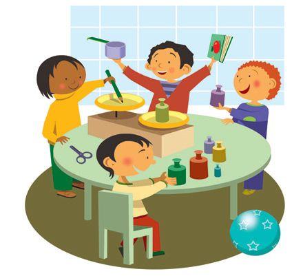Kleuterclipart / Preschool clipart | 1) Escolinha ...