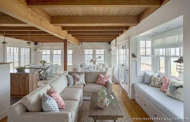 "129 Likes, 2 Comments - Boston Design Guide (@bostondesignguide) on Instagram: ""#Relaxation station🙌 | Custom Builders: KVH Construction #BostonDesign #CapeCod #MarthasVineyard"""