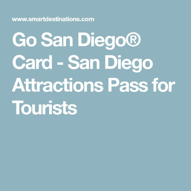 Go San Diego® Card - San Diego Attractions Pass for Tourists