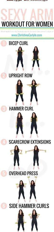 Machen deine Arme dich selbstbewusst? Dieses Arm-Workout für Frauen wird dir da…