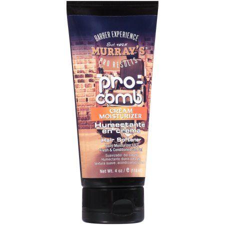 Murray's Pro-Comb Cream Moisturizer Hair Softener 4 oz. Tube
