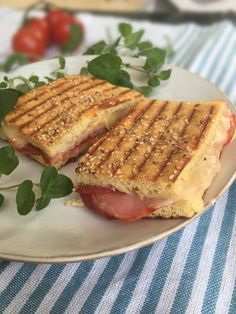 Toasted sandwich - panini style - 2g carbs per serving! Keto and LCHF friendly. Recipe here: MyCopenhagenKitchen.com