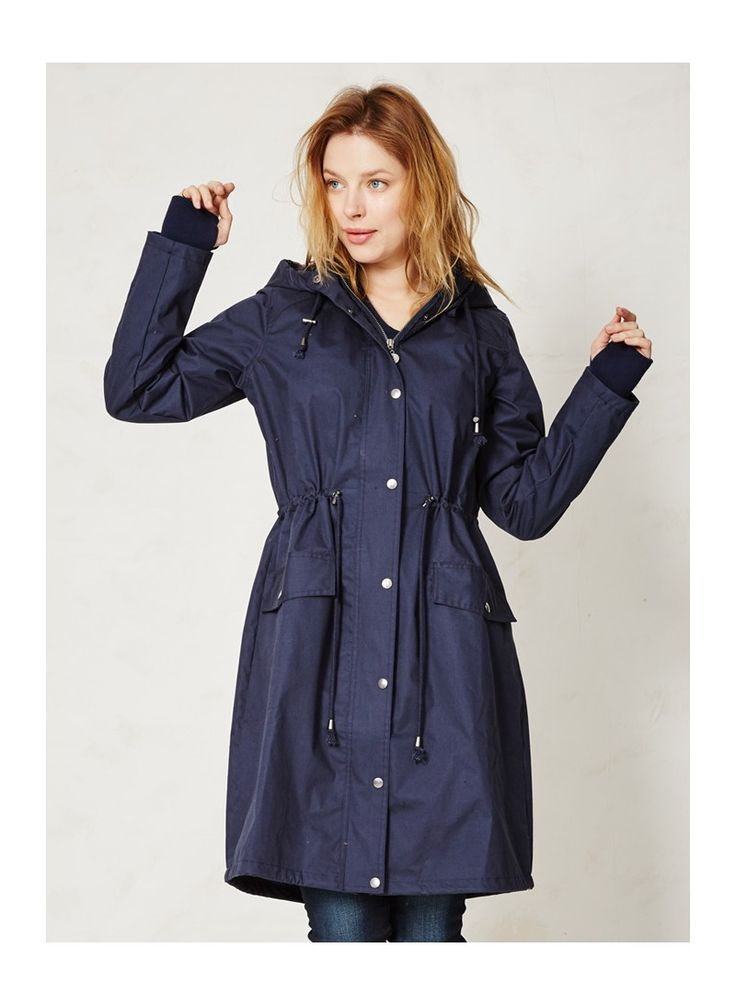Organic cotton waterproof jacket