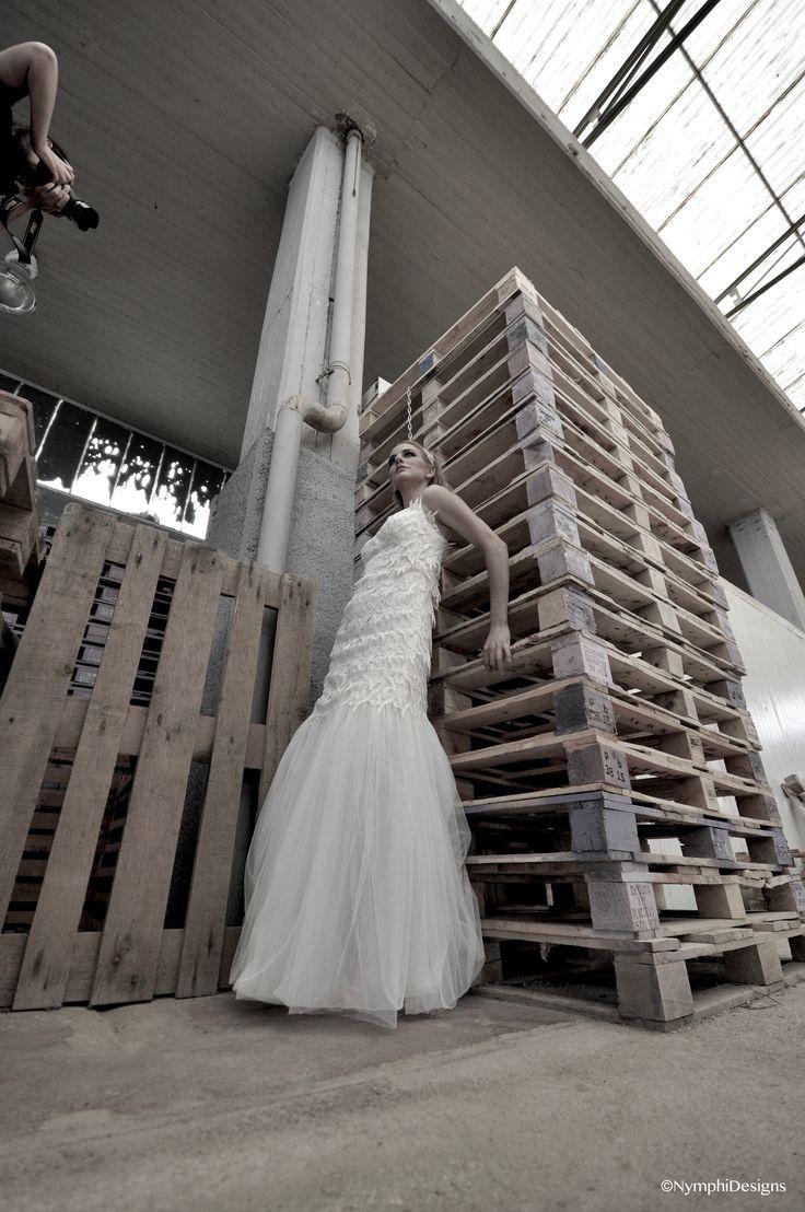 Radella bridal gown .Bachdi resort by Nymphi. www.nymphidesign.com  Lace, bridal, gown, Boho,wedding