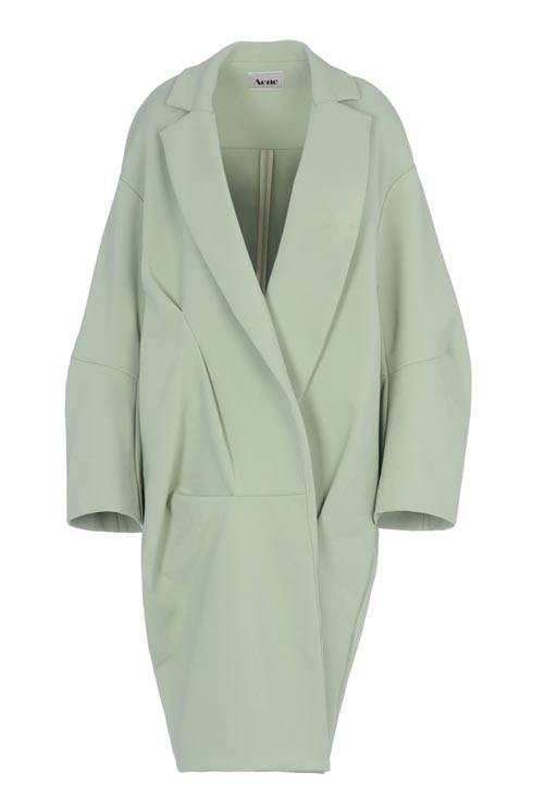 Stunning ACNE oversized coat  via  Autumn/winter 12 Coats :: Harper's BAZAAR