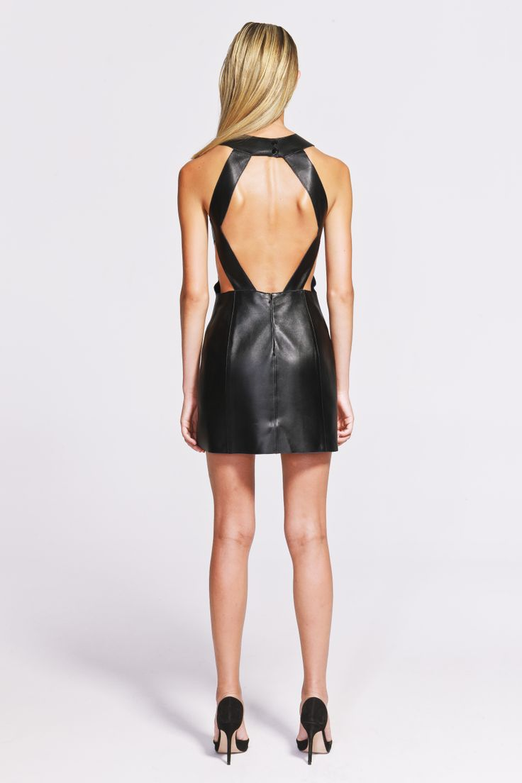 Coco Leather Dress  https://www.jibeoh.com/product/listing/71/coco_elbise