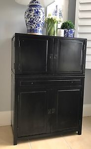 Pottery Barn Clyde Bar Black PICK UP ONLY EUC  | eBay