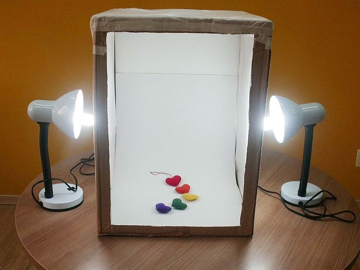 Mini estúdio de fotografia: faça você mesmo