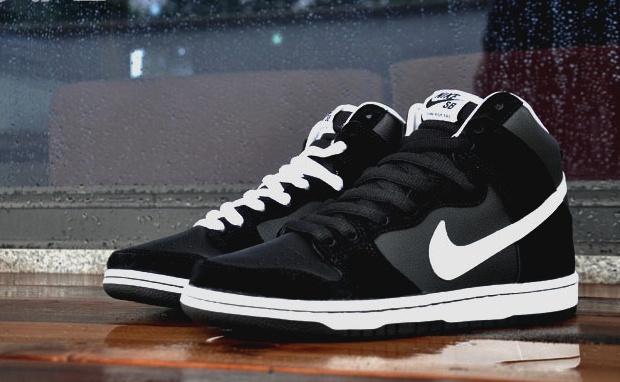 Nike SB Dunk High Pro Black/White