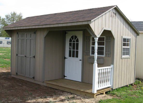 Once you see our Amish sheds' prices, you're sure to become another