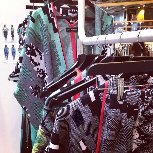 WHO'S NEXT PARIS  Susana Bettencourt SS15 Who's Next Paris Paris Fashion Week Trends Print Patterns Nature Texture Geometry Graphic Knitwear Knit Jacquard Etnical