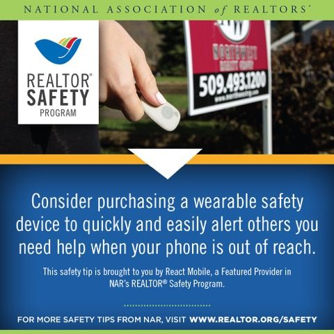 Best Realtor Safety Images On   Safety Security