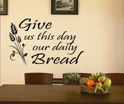 Details about religious vinyl wall lettering quotes give for Christian wall mural