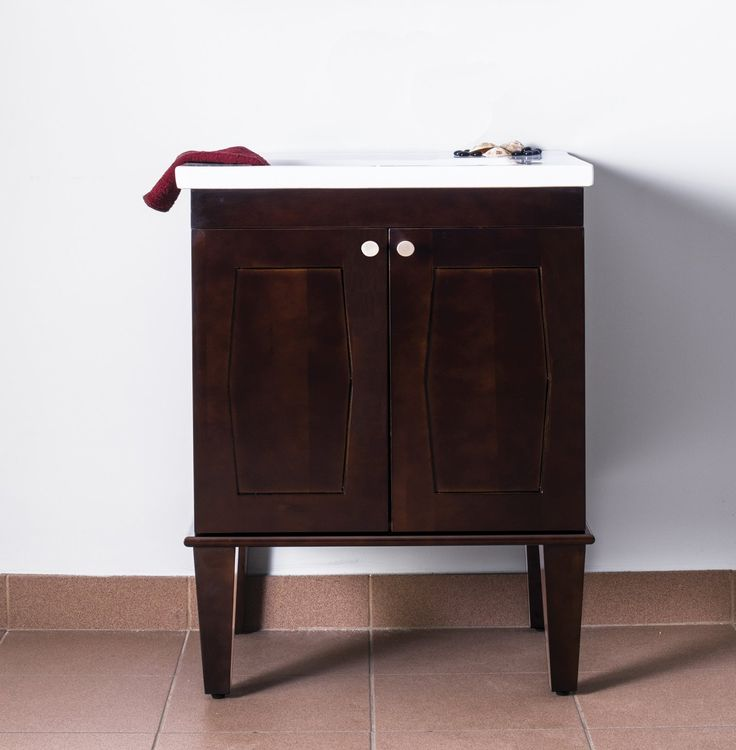 Picture Gallery Website  Inch Single Sink Square Console Bathroom Vanity with White Ceramic Sink UVEINC