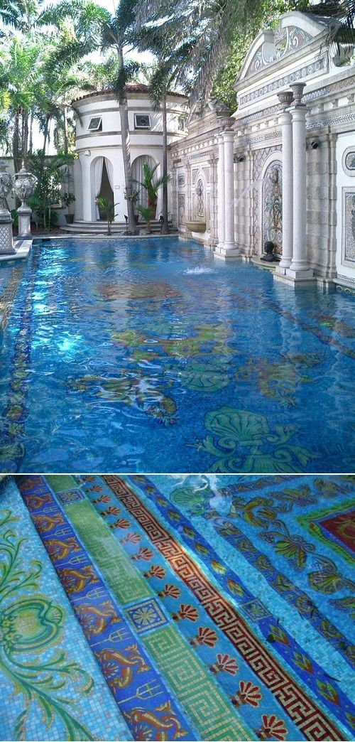 Versace's house pool, South Beach- Miami