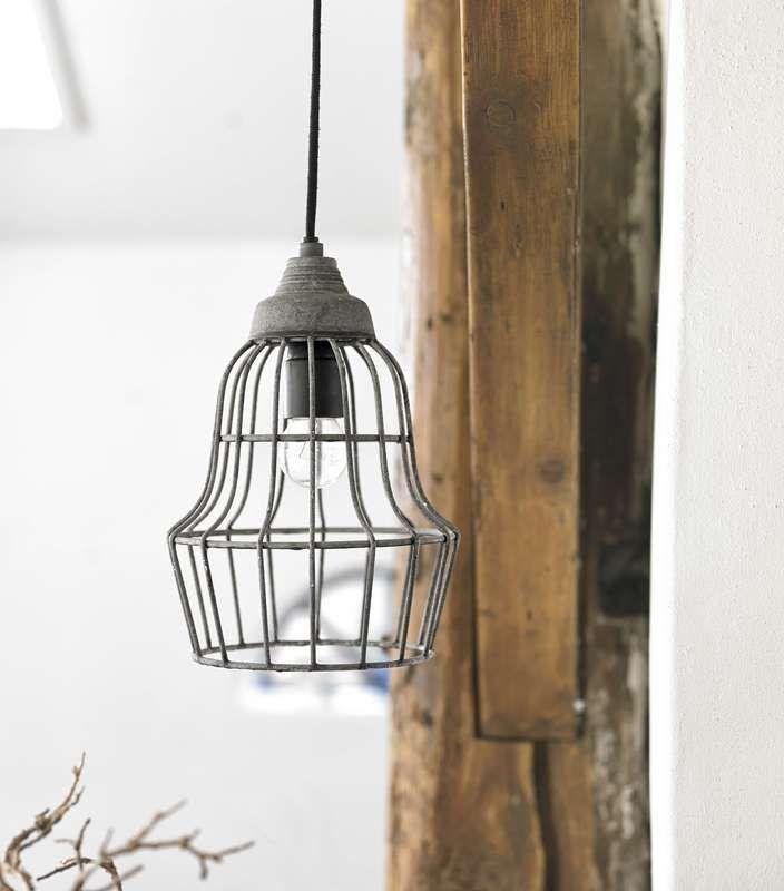 Pronto Wonen industriele hanglamp - #pinenwin #homecenterlente - doe met de Pin & Win actie en win je favoriete lente-artikel! www.homecenter.nl/pinitenwin