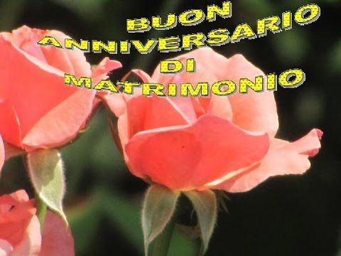 """Buon Anniversario di Matrimonio""""Jiust Married""""auguri sposi per il vostro..."""