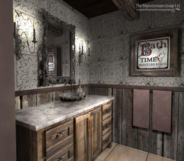 11 12 13 Diamond Mine Bathroom Redesign Barn Wood