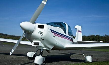 Initiation au pilotage d'un avion avec cours, simulateur et 1 ou 2 vols effectifs à partir de 129 €