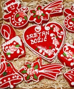 Christmas- Croatia ornaments -