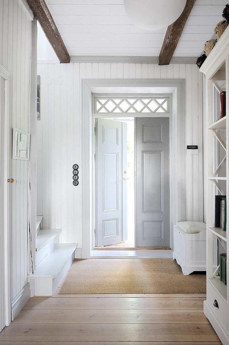 transom, beams, doors