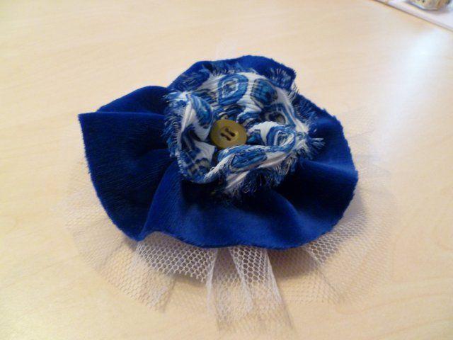 Marly Design: stoffen bloemen maken 1.