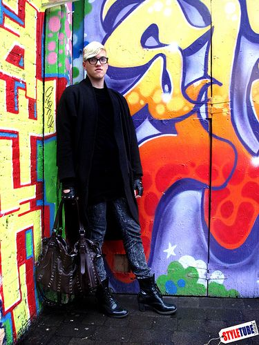 styletube - London Street Fashion: Tom, men in heels