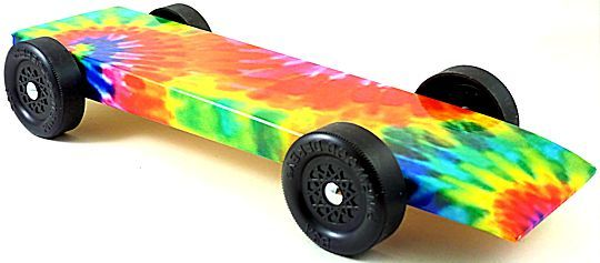 Complete Pre-Built Pinewood Derby Cars