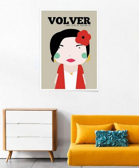 Little Volver of niñasilla now on JUNIQE http://www.juniqe.com/ni-asilla.html