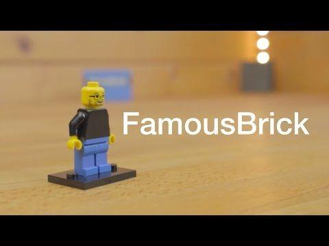Das perfekte Geschenk für einen Geek! FamousBrick - Techniklike - YouTube