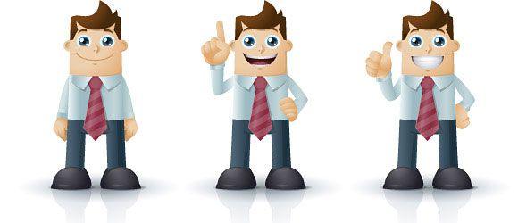 cartoon characters business