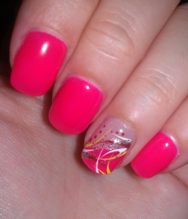 pink #nails #nailart nail design nail art