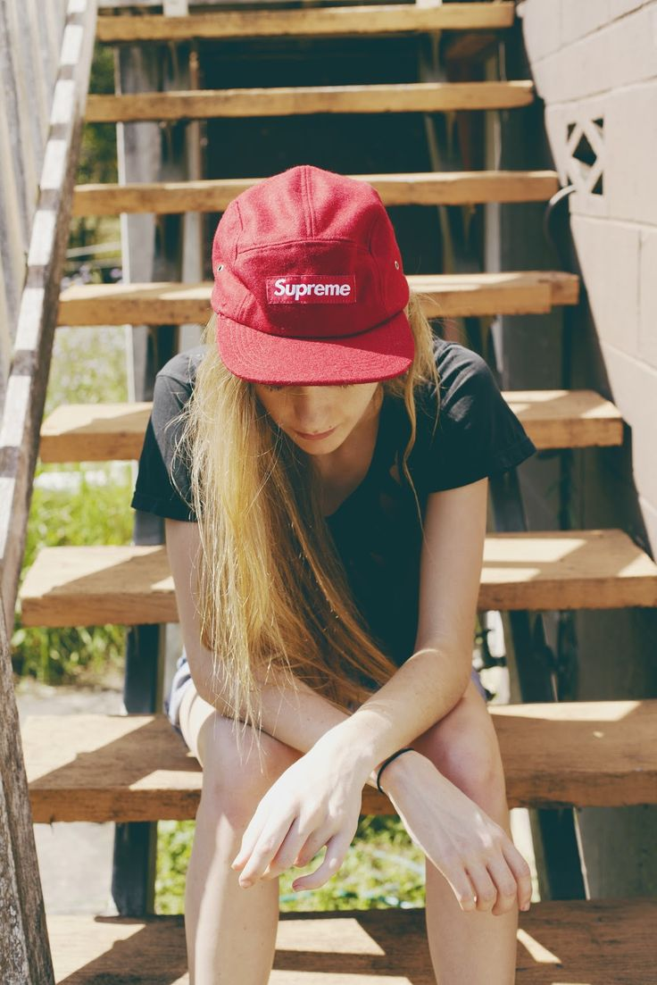Five Panel hats: These have been on the come up for the last year and would sell pretty nice. If we did three colors like black, olive, or maroon and printed Desperation in the same font and style as Supreme.