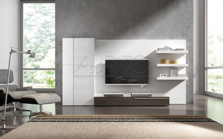 Modern Wall Tv Cabinet Design : Best images about on modern wall units
