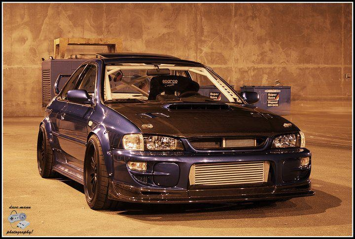 Subaru GC8 Type RS - absolutely mean.