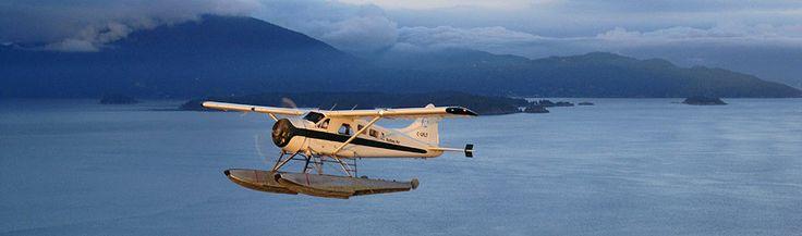 Tofino Air Scenic Flights and Tours - Sechelt - Gabriola Island - Nanaimo - Victoria - Vancouver