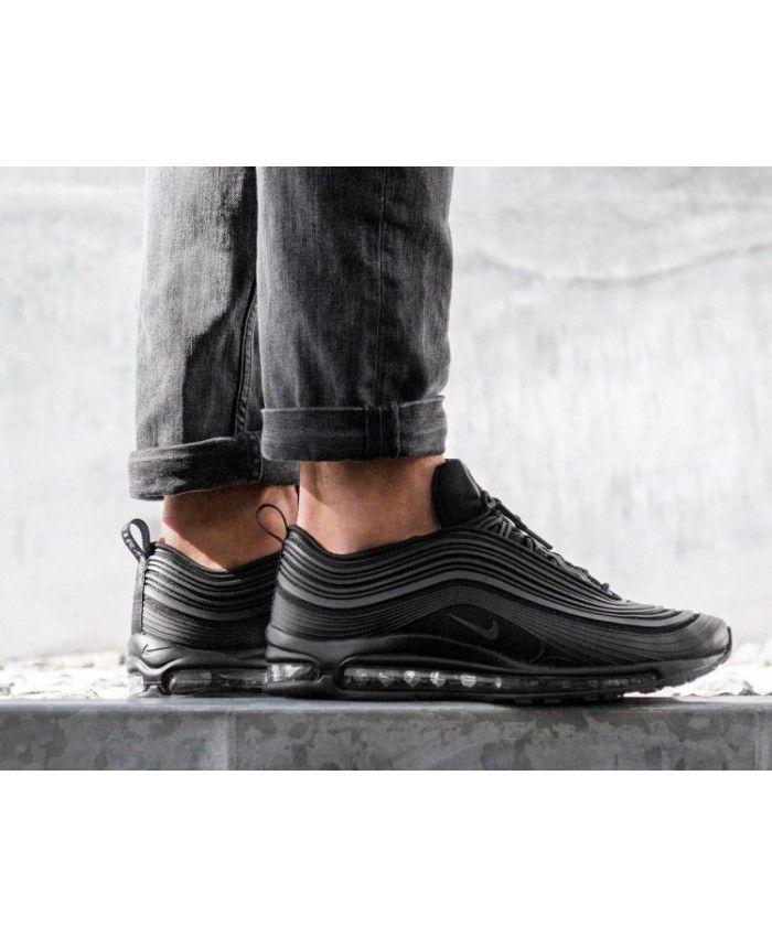 c52add6234 Nike Air Max 97 Ultra'17 Premium Black Anthracite Trainers | Nike ...