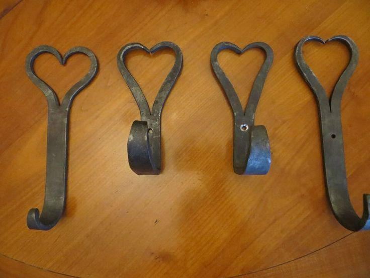 A selection of heart hooks