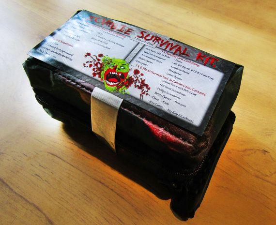 Kit de survie Zombie. Zombie Apocalypse Kit. Kit de camping