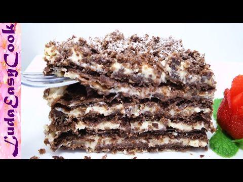 (6) Вкусный Шоколадный Торт Наполеон - Russian Napoleon CHOCOLATE Mille-feuille cake - BÁNH NAPOLEON - YouTube